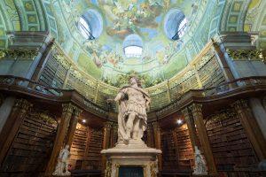 Prunksaal, Josefsplatz 1, 1010 Wien © Österreichische Nationalbibliothek/Hloch