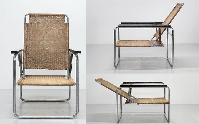 Sessel Sitzmaschine Marcel Breuer, Thonet,