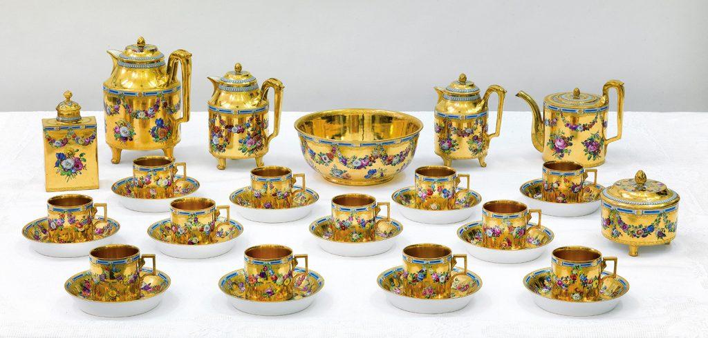 Kaffee Tee Service Porzellan