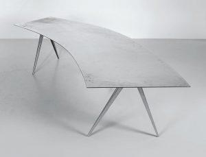 Tisch Metall Spirale