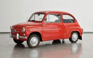 Fiat 600 rot