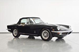 schwarz Maserati Oldtimer