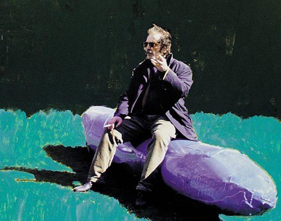 Franz West, Plakatentuwrf, Die Aluskulptur