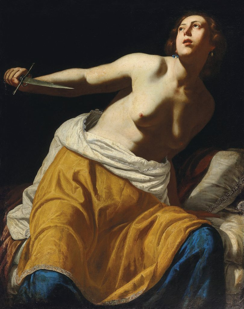Classic Auction Week: Artemisia's Lucretia