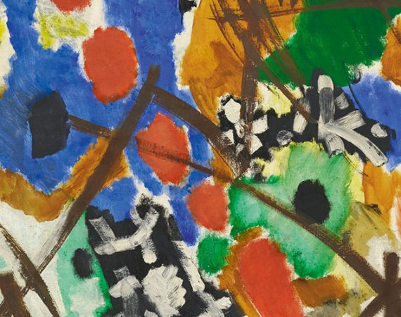 Ernst Wilhelm Nay Einklang Auktion am 27.11.2018