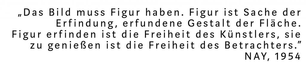 Zitat Ernst Wilhelm Nay