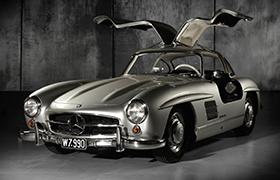 Mercedes Flügeltürer