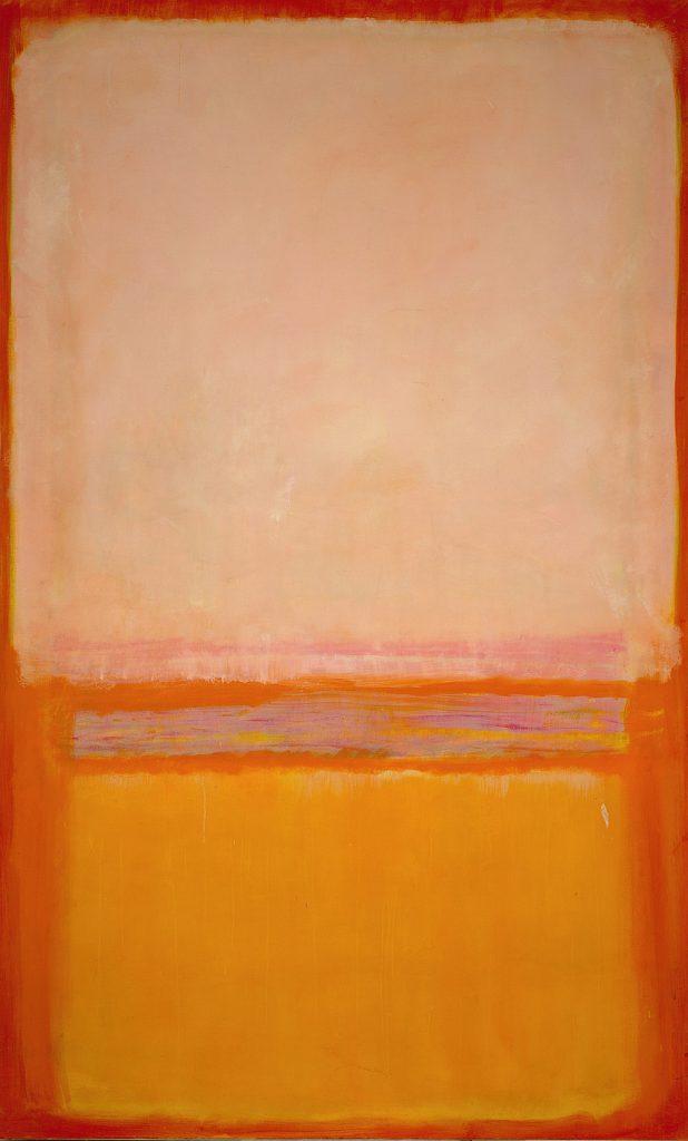 Mark Rothko (1903–1970), Untitled, 1950, Öl auf Leinwand, 230,2 × 128,9 cm © 1998 Kate Rothko Prizel & Christopher Rothko/Bildrecht, Wien, 2019