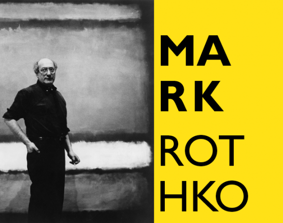 "Mark Rothko with ""No. 7"", 1960 Photograph attributed to Regina Bogat © 2005 Kate Rothko Prizel & Christopher Rothko, Bildrecht Vienna, 2019"