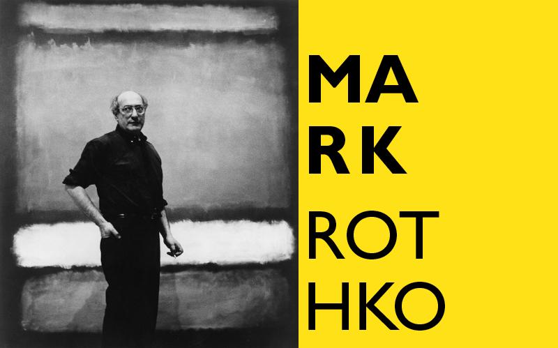 "Mark Rothko with ""No. 7"", 1960 Photograph attributed to Regina Bogat © 2005 Kate Rothko Prizel & Christopher Rothko, Bildrecht Vienna, 2019"