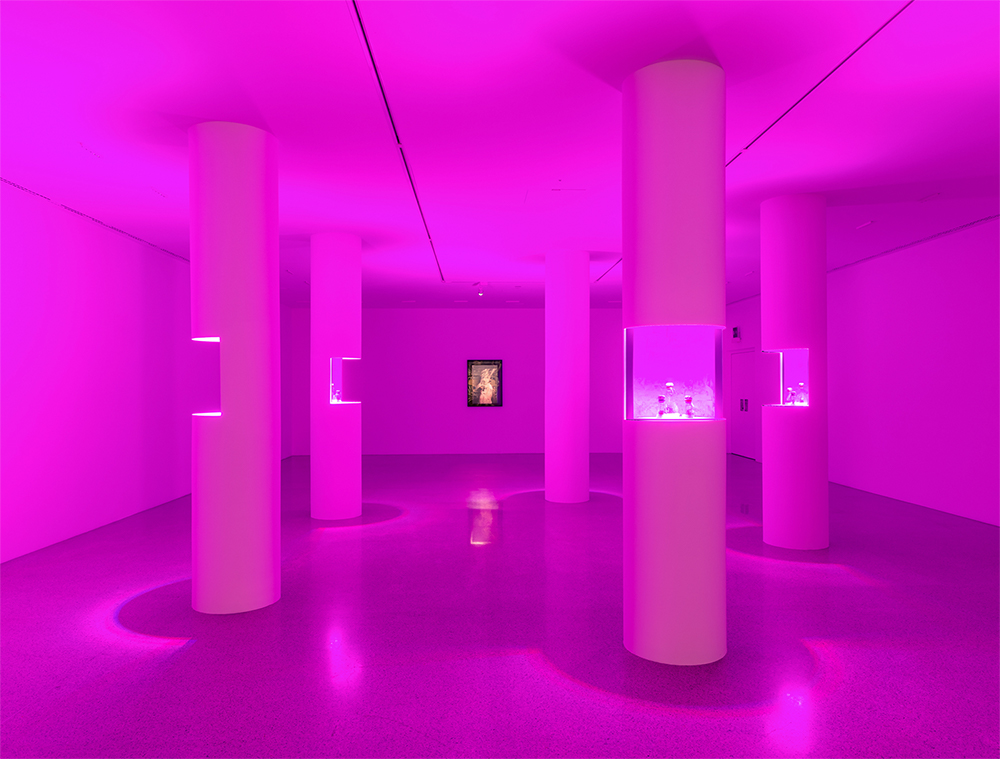 Ausstellungsansicht Christian Kosmas Mayer. Aeviternity, mumok Museum moderner Kunst Stiftung Ludwig Wien Photo: Klaus Pichler © mumok/Bildrecht Wien, 2019