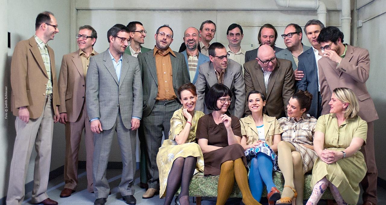 Happiness Machine - 3 Stunden Glück mit dem Klangforum Wien Foto: Judith Schlosser
