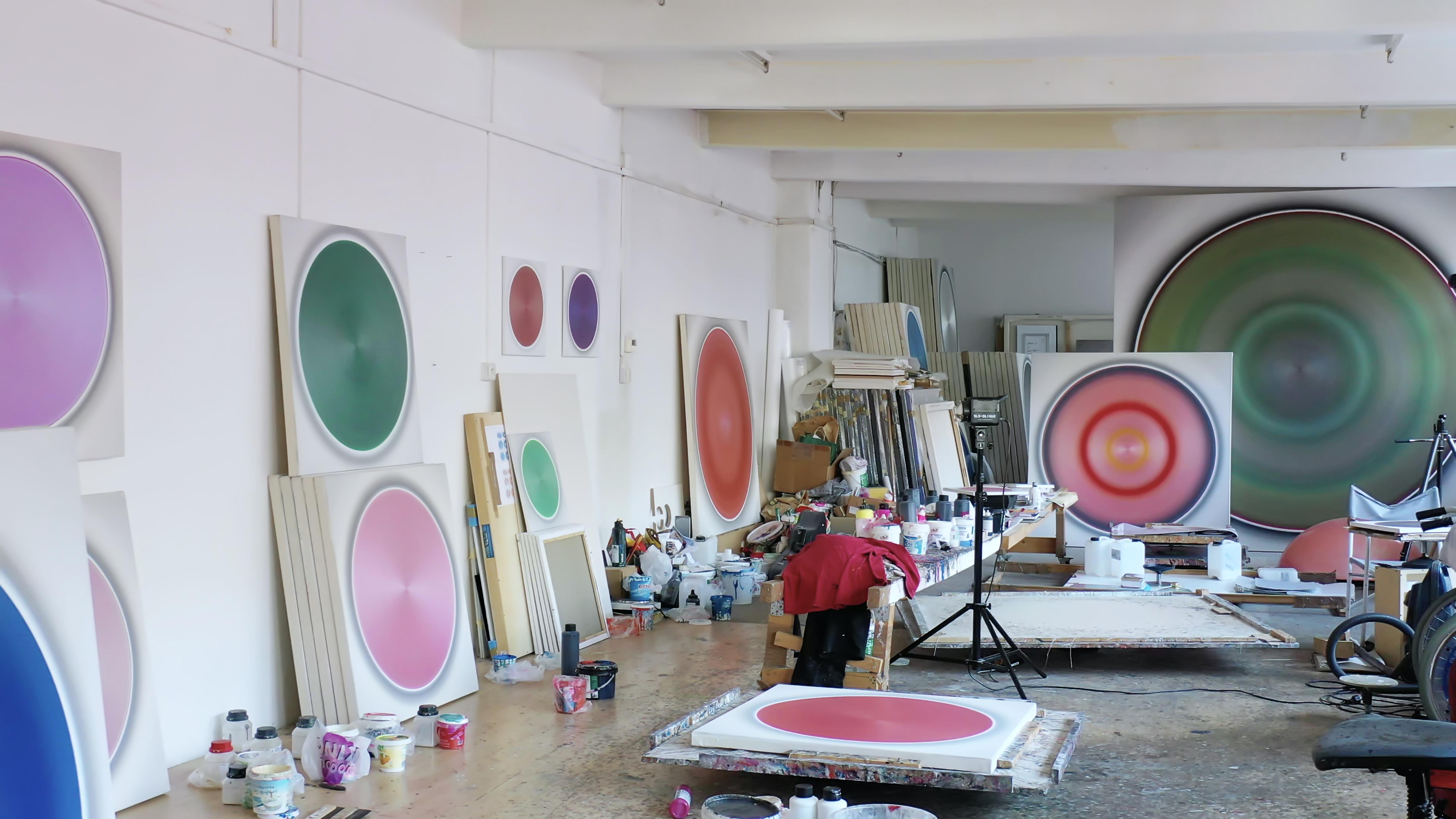 Robert Schaberl, Atelieransicht, 2020, Foto: Robert Schaberl