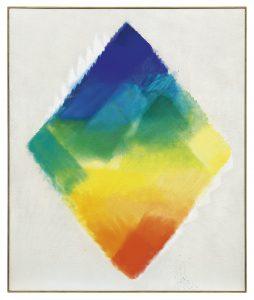 Heinz Mack, Großes Farblicht, 1994 Acryl auf Leinwand, 180 x 150 cm, Künstlerrahmen Schätzwert € 100.000 – 150.000