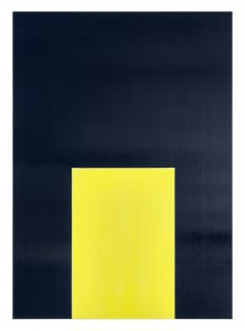 Imi Knoebel Pure Freude 39, 2001 Acryl auf Aluminium, 160 x 114,5 x 4,5 cm Schätzwert € 40.000 – 60.000