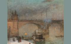 Jacub Schikaneder Prag, Dampfer auf der Moldau vor der Palacky Brücke, um 1910/20 Öl auf Leinwand, 84 x 106 cm Schätzwert € 180.000 – 240.000