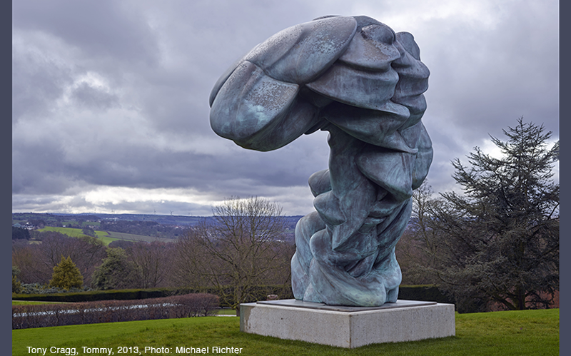 Tony Cragg, Tommy, 2013, bronze, 360x290x220. PhotoMichael Richter