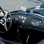 Hand-signed glove compartment of the 1963 Shelby Cobra 289 Mk. I