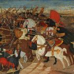 Apollonio Da Giovanni, Battle of Pharsalos - Old Master Paintings 25th April 2017, € 400,000 - 600,000