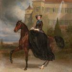 Carl Theodor von Piloty und Franz Adam - Kaiserin Elisabeth von Oesterreich als Prinzessin Braut zu Possenhofen - Gemälde 19. Jahrhundert 27. April 2017, € 300.000 - 350.000