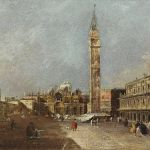 Francesco Guardi, Piazza San Marco - Old Master Paintings 25th April 2017, € 200,000 - 300,000