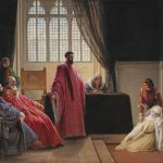 Francesco Hayez, Valenza Gradenigo in front of the Inquisition - 19th Century Paintings 27th April 2017, € 90,000 - 120,000
