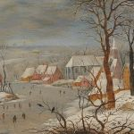 Pieter Brueghel II, The Bird Trap - Old Master Paintings 25th April 2017, € 200,000 - 300,000