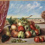 Giorgio de Chirico, Vita silente con frutta, ca. 1964, Schätzwert € 60.000 - 80.000