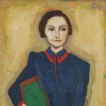 Karl Hofer, Portrait Elisabeth Hofer, 1943, Schätzwert € 60.000 - 80.000
