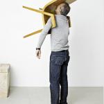 Erwin Wurm, Idiot II, 2010, Leinwand - print, 92 x 74,5 cm Foto: Studio Erwin Wurm