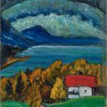 Gabriele Münter (1877–1962), Blick aufs Gebirge