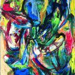 Asger Jorn, Brokigt brak-Patchy quarrel, 1964